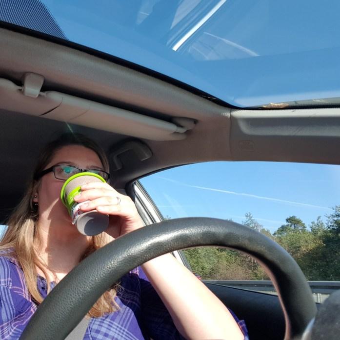 Kaffee, Autofahrt