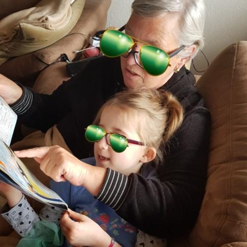 lesen mit Oma