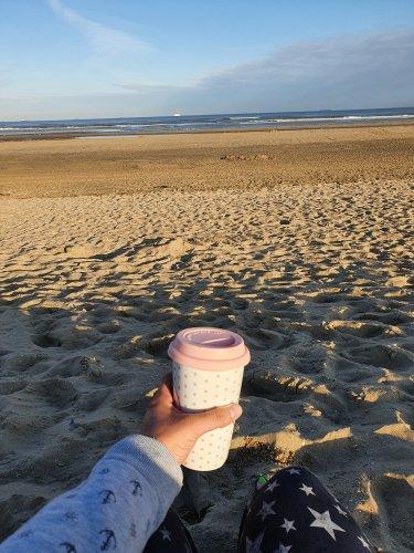 Kaffee an der See