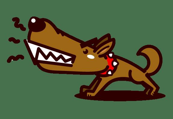 番犬 イラスト
