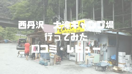 西丹沢 大滝キャンプ場