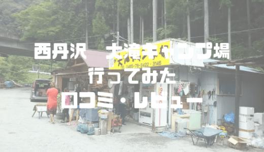 神奈川県西丹沢の川辺でキャンプしてみた。大滝キャンプ場は予約不要で入れて便利!(口コミ・レビュー)