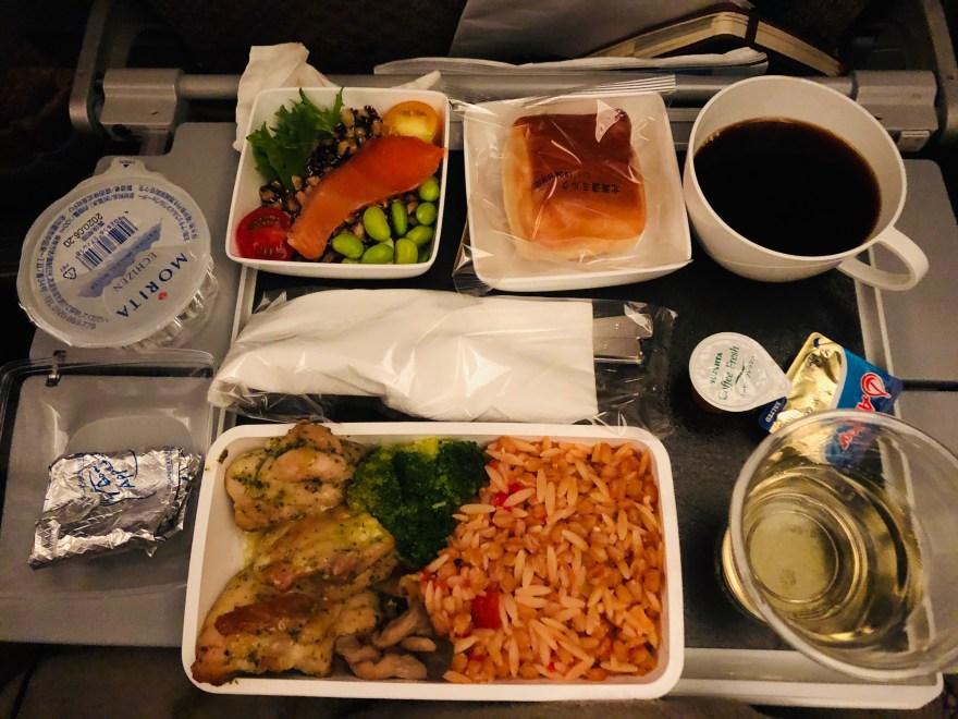 シンガポール航空 機内食