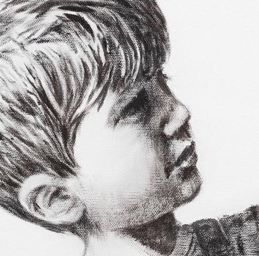 Banksy: Game Changer 少年の顔