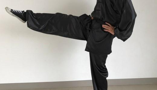 男が真っ青になる金的カンフーキック! 蹴りの基本(弾腿)