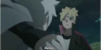 Mitsuki menyerang boruto