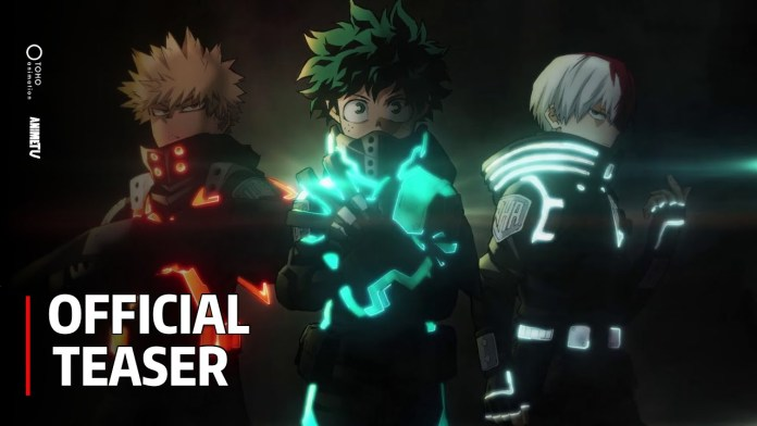 My Hero Academia THE MOVIE: World Heroes' Mission - Official Teaser - YouTube