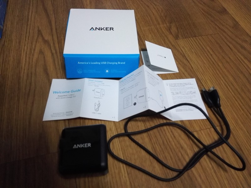 Anker PowerPort+ 1 USB-C Quick Charge 3.0