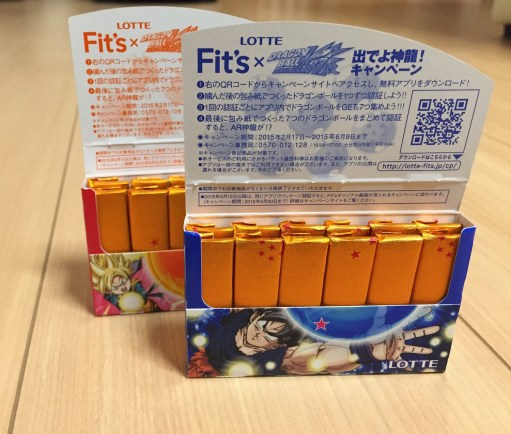 Opening the Dragon Ball gum