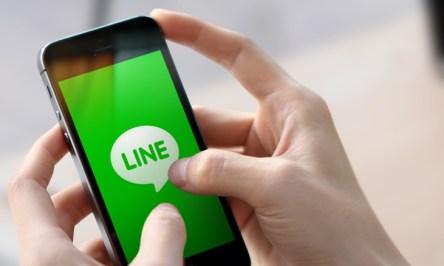 LINE hands