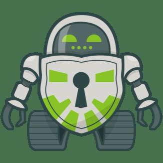 Crytomator robot logo