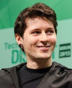 Photo of Pavel Durov, the founder of Telegram