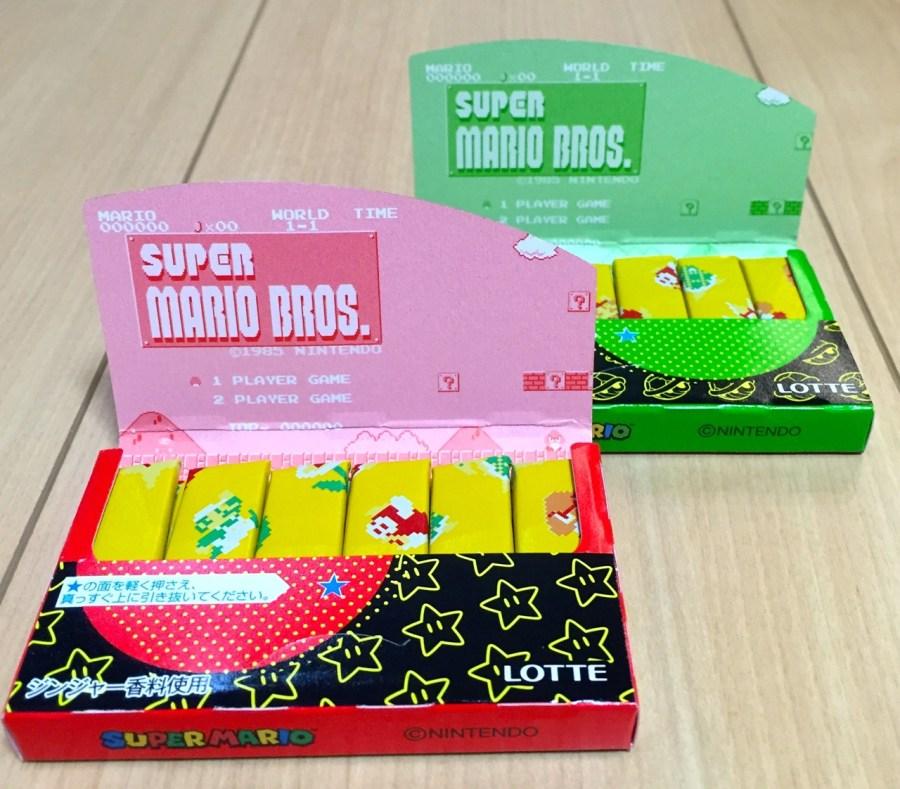 Two Mario Gum packs opened