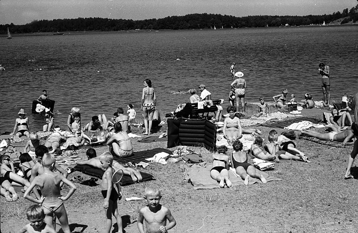 Plaża POSTiW w 1967