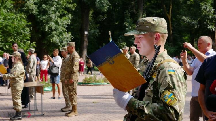 Випускники військової кафедри ПНУ ім. В. Стефаника урочисто склали присягу 2