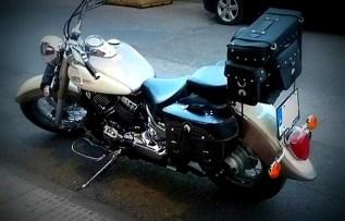 baul moto y alforja moto custom kursport