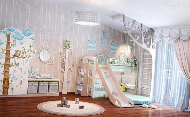 дизайн детских комнат для девочек фото 6