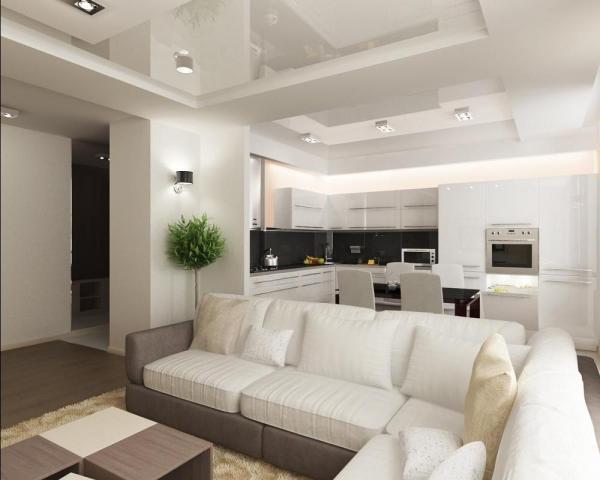 Интерьер кухни 8 кв м: простые примеры и варианты готового ...