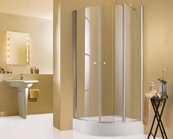 Дизайн ванной комнаты маленького размера с душевой кабиной ...