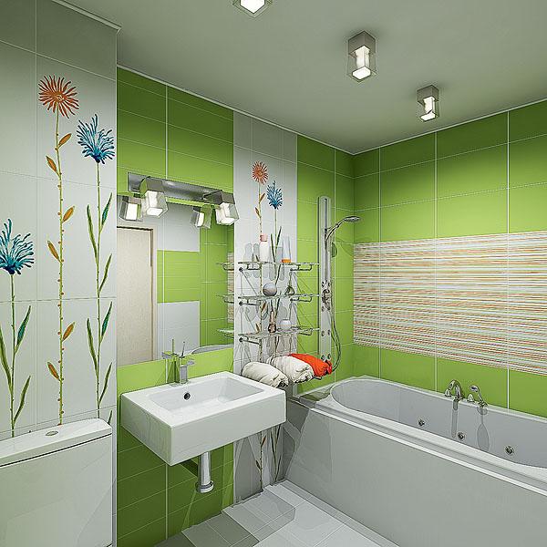 Дизайн ванной комнаты в хрущевке: проект интерьера ...