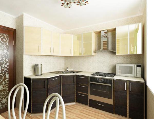 Интерьер кухни 9 кв м и 15: дизайн узкого помещения ...