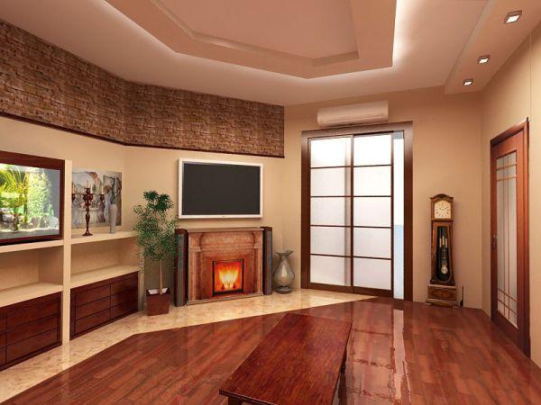 Интерьер гостиной в маленькой квартире: модный дизайн ...