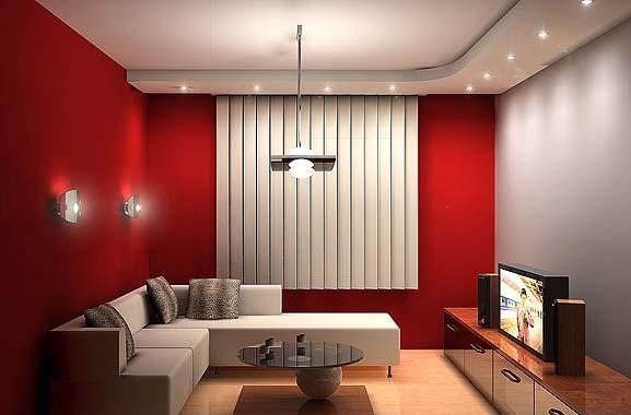 Интерьер гостиной в маленькой квартире модный дизайн