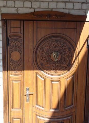 МДФ накладки: обивка металлических дверей, видео ...