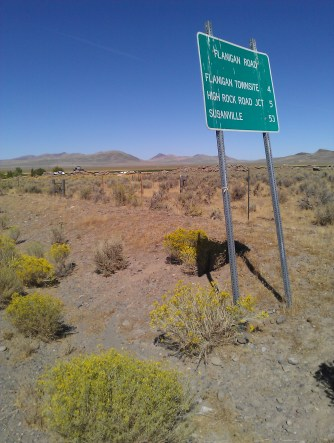 Alternate Route off Fish Springs Rd