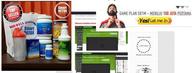 produk dropship SB1M smart detox synergy