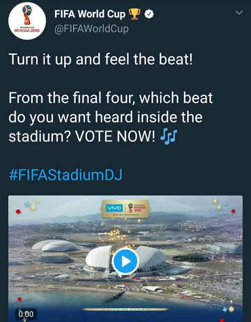 bts fake love polling fifa world cup 2018