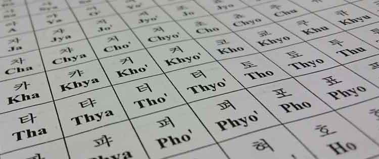 Abjad Korea dan Cara Membacanya