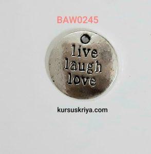 Charm live laugh love