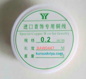 Kawat asesoris 0.2 mm rose gold