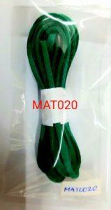 Tali kulit suede imitasi warna emerald green