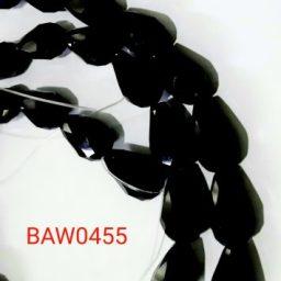 Kristal tetes air 15 X 10 hitam