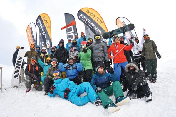 Orava Snowkite challenge 2019 - group photo