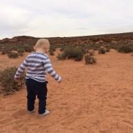 Our little adventurer