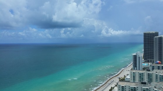 Overlooking the Fort Lauderdale Beach in Miami, United States.