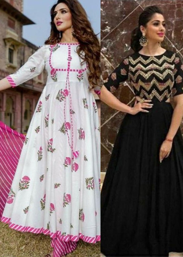 combo deal laharia black dress