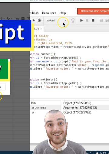 Kurt Kaiser code tutorial screenshot