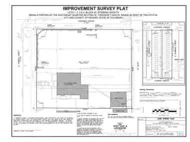 improvement survey plat
