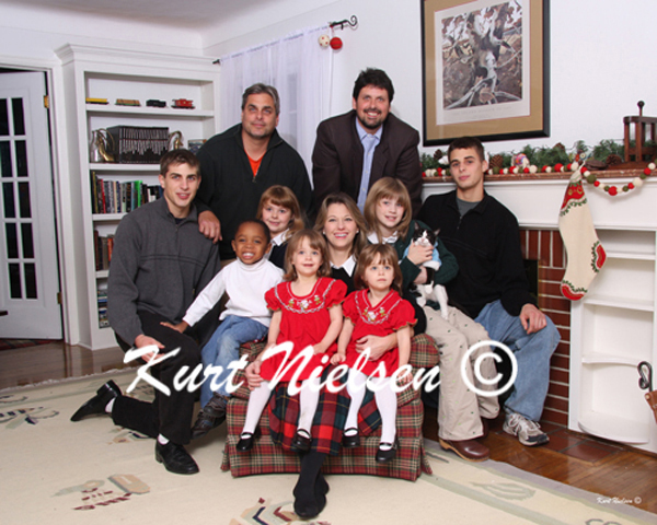 Toledo Family Photographer Christmas Portraits