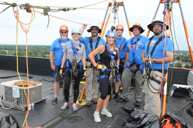 Nancy Gianni and the crew from Over the Edge Global