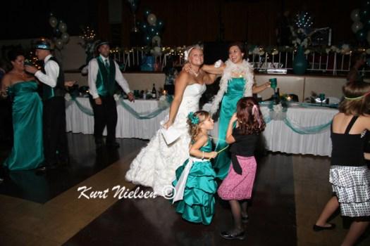 Dancing at wedding receptions