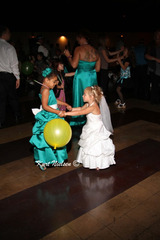 Flower girl and Junior bridesmaid
