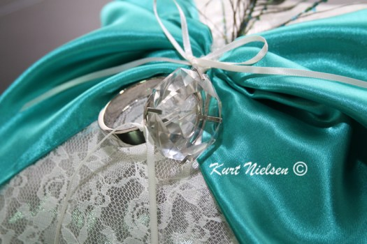 Decorated Ring Bearer Pillow
