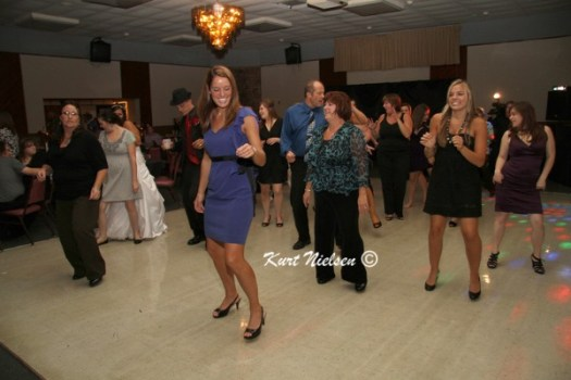 Keeping the guests on the dance floor