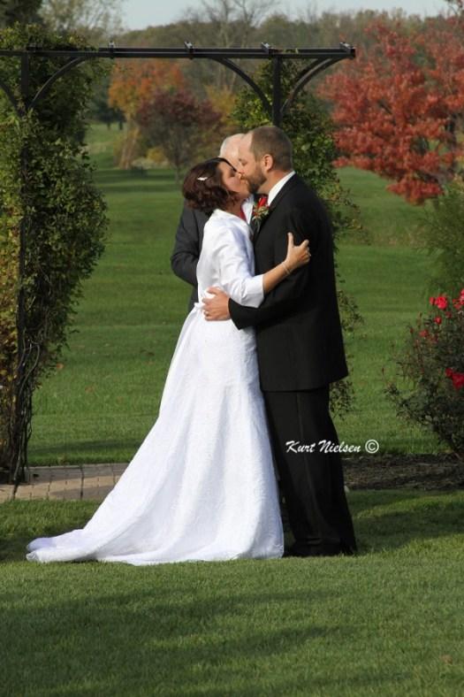 Photos of the Wedding Kiss