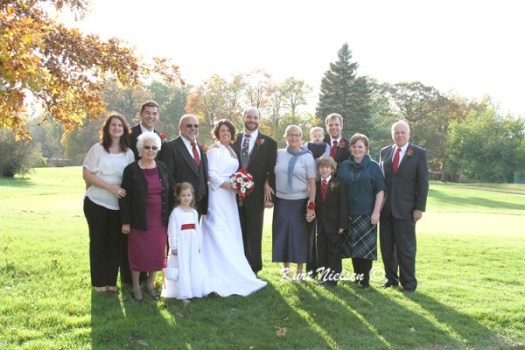 Photos of the Grooms family
